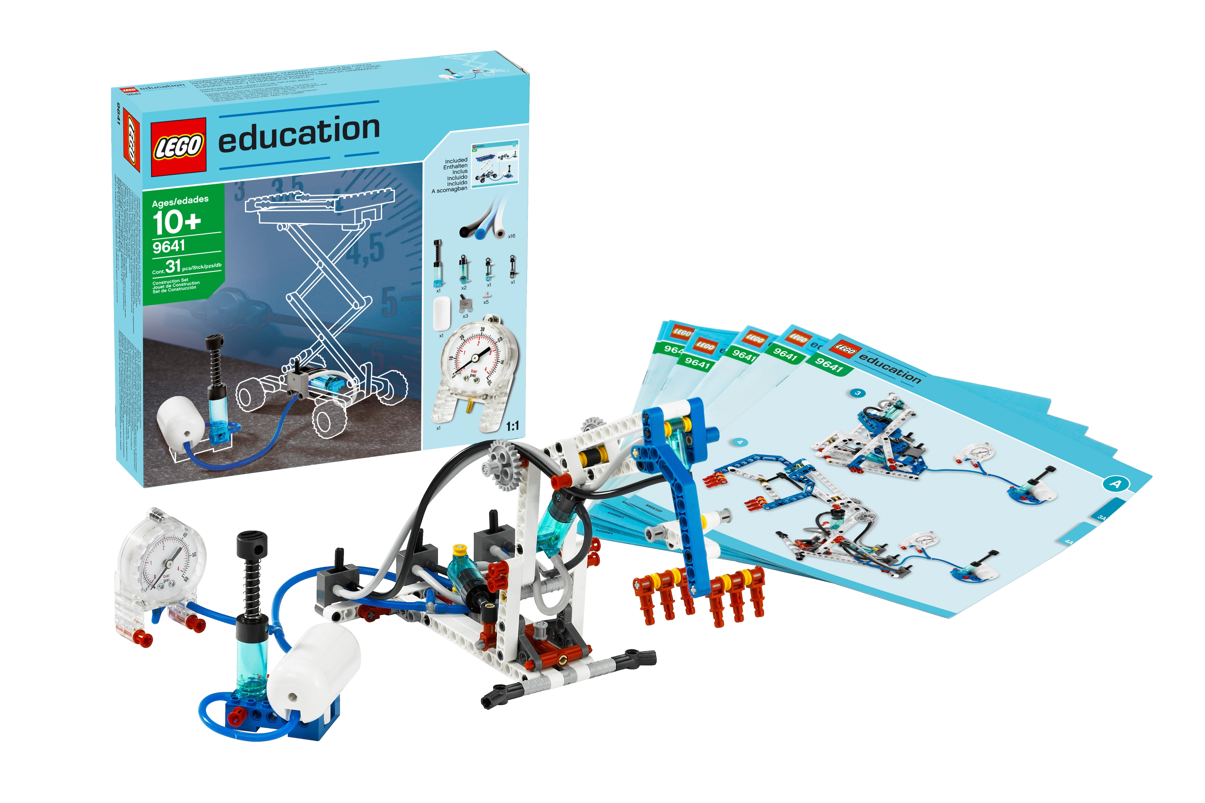 Pneumatics Add On Set For Machines Amp Mechanisms By Lego