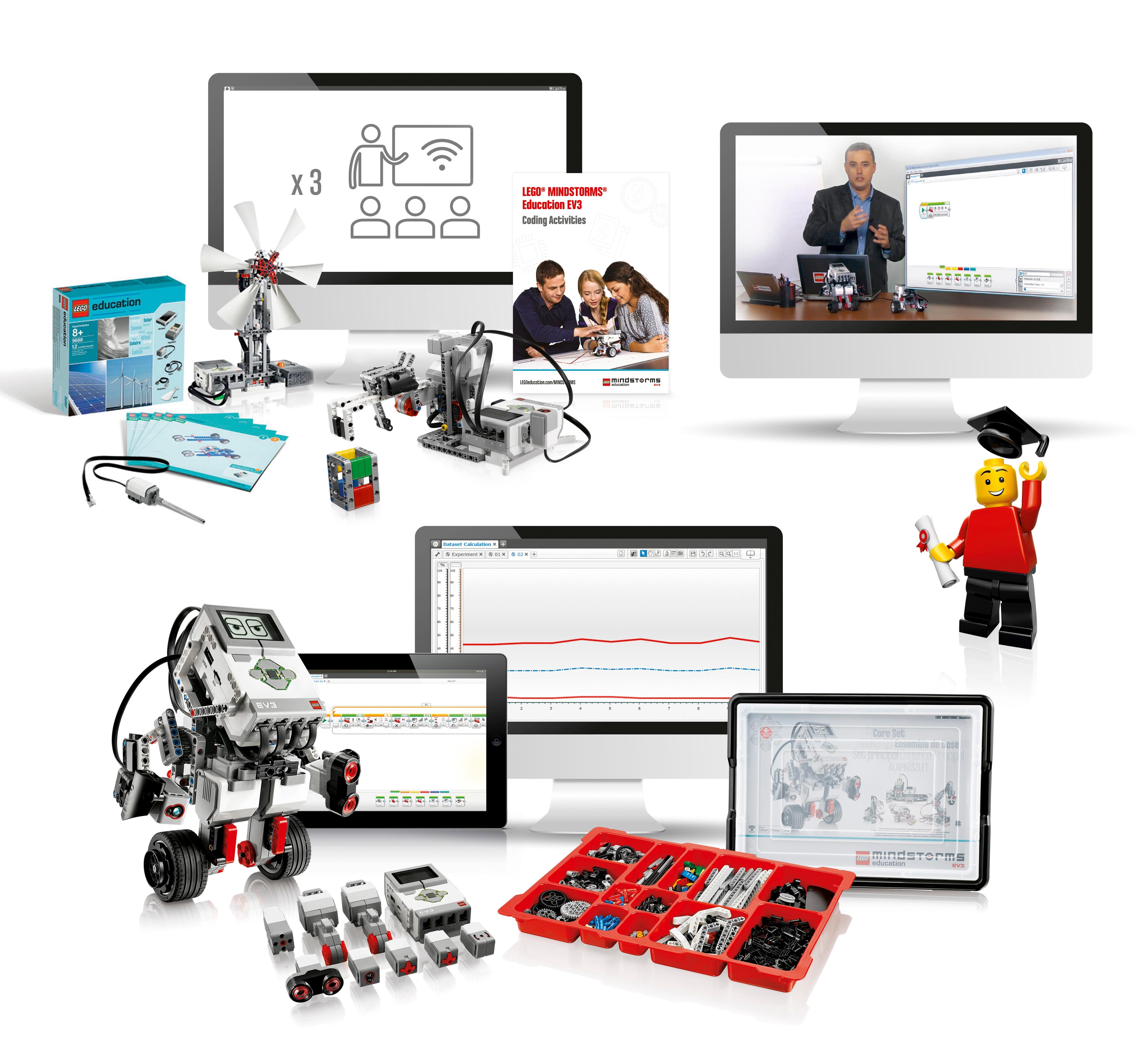 LEGO® MINDSTORMS® Education EV3 Comprehensive Solution by LEGO Education