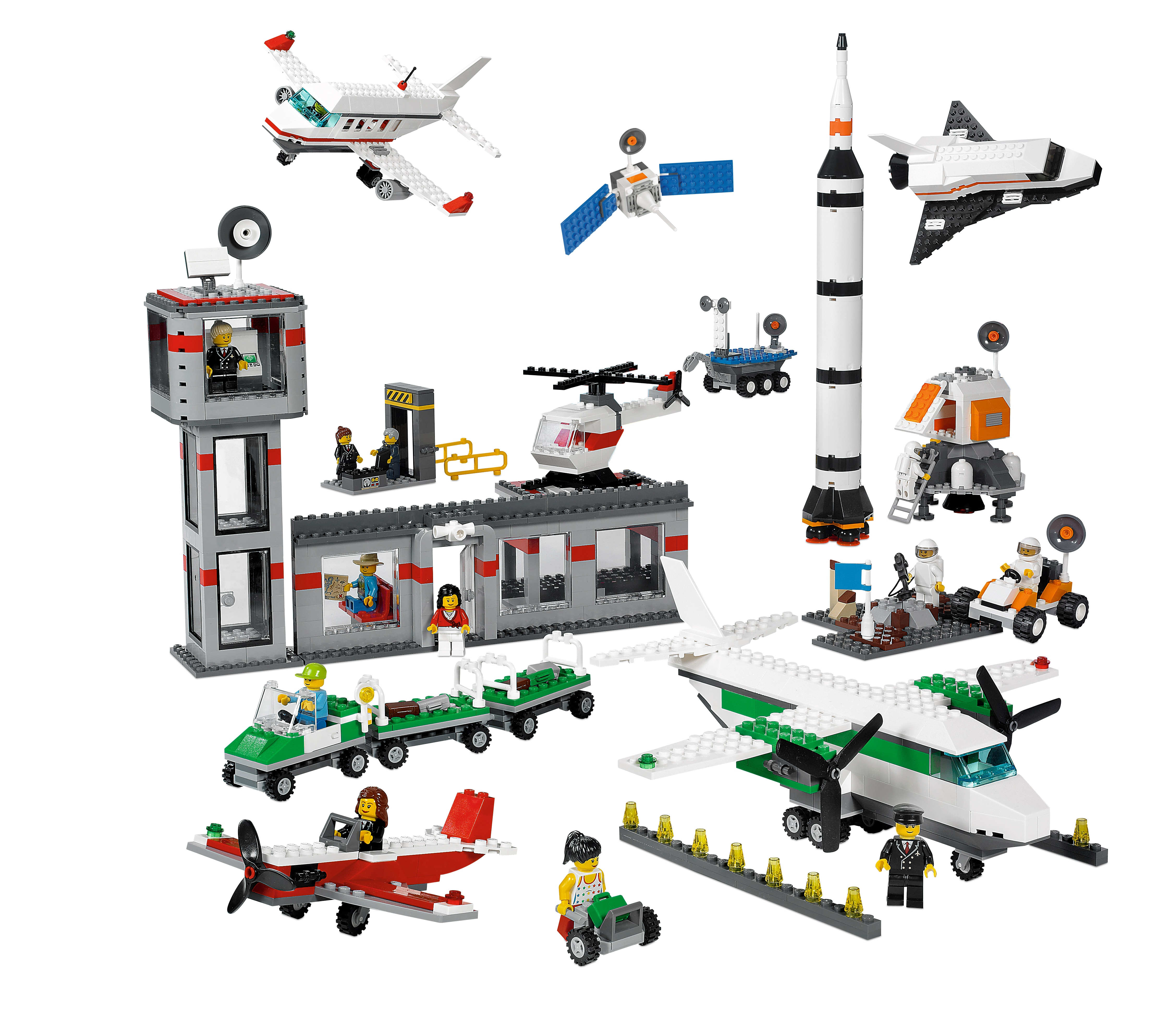 1,176 Pieces LEGO Education Space and Airport Set 9335 4579792