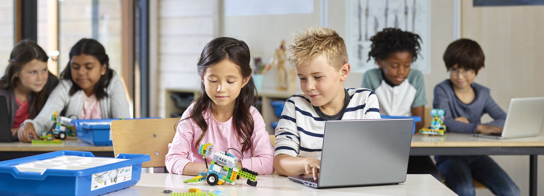 LEGO Education teach STEM through playful learning experiences