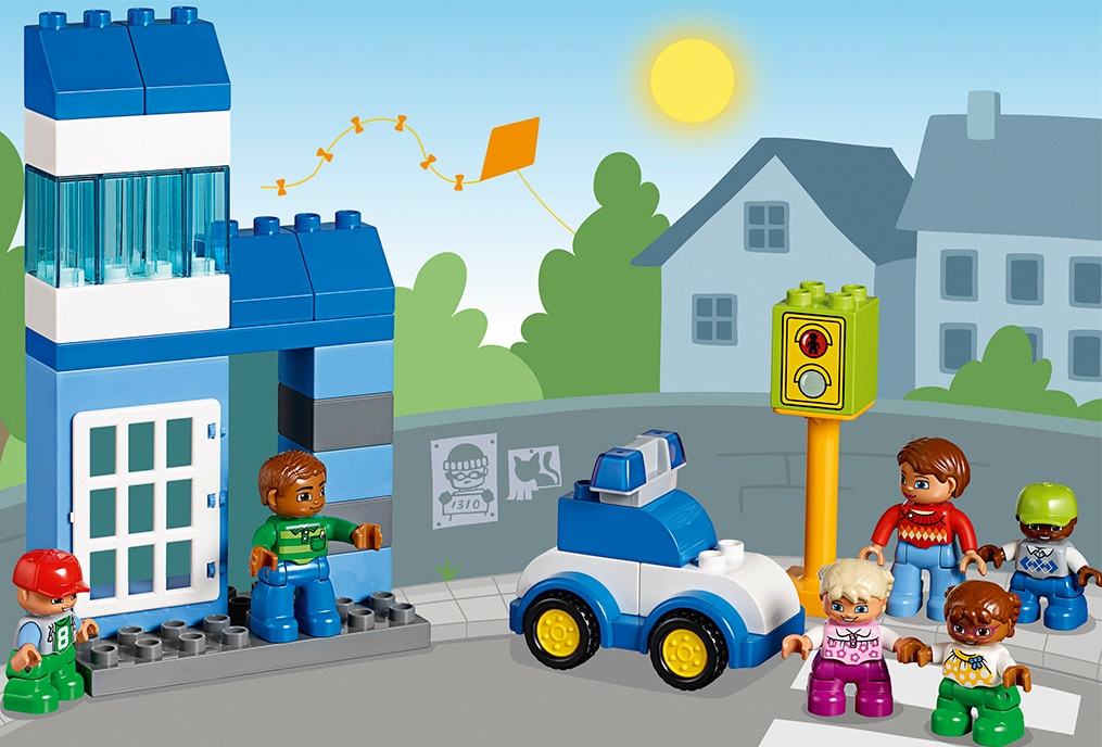 LEGO Education Early Learning, building social skills, let's build character