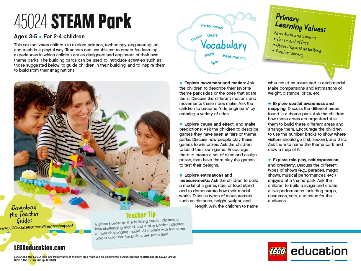 Preschool Lesson Ideas – Support – LEGO Education