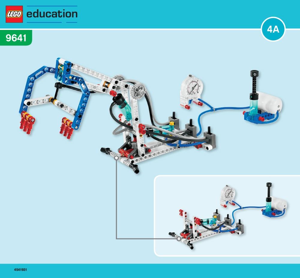 Robot arm building instructions