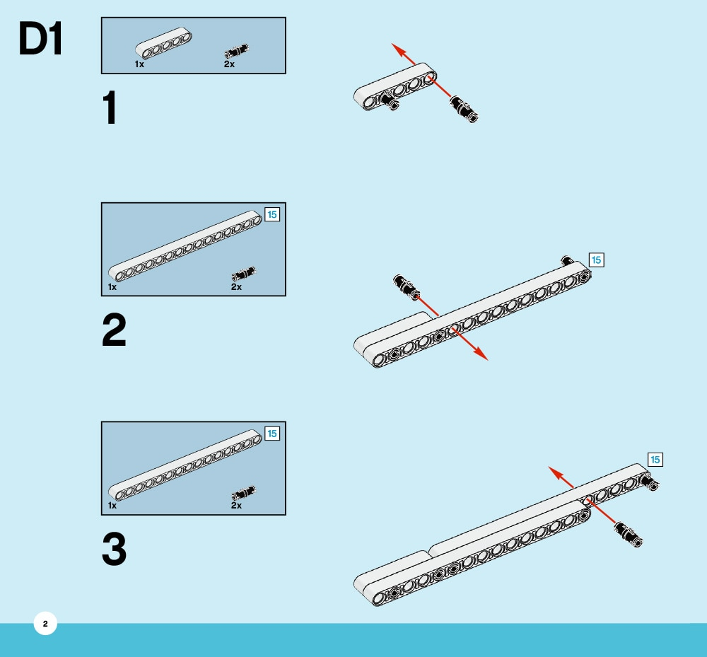 Inclined plane building instructions