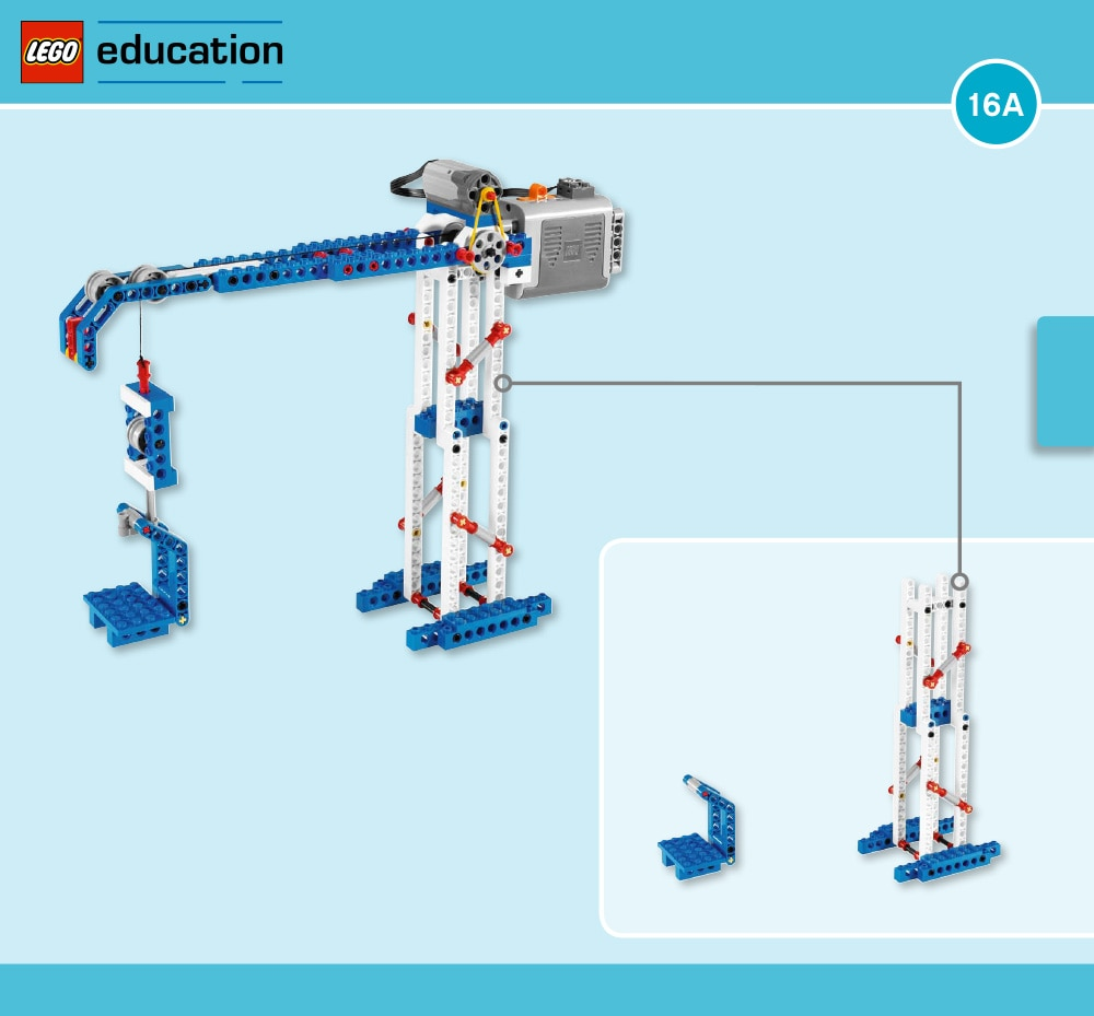 Tower crane building instructions