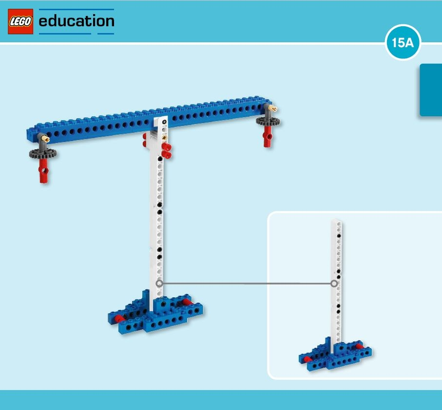 LEGO Education Machines&Mechanisms - Building instructions - Balance and crane