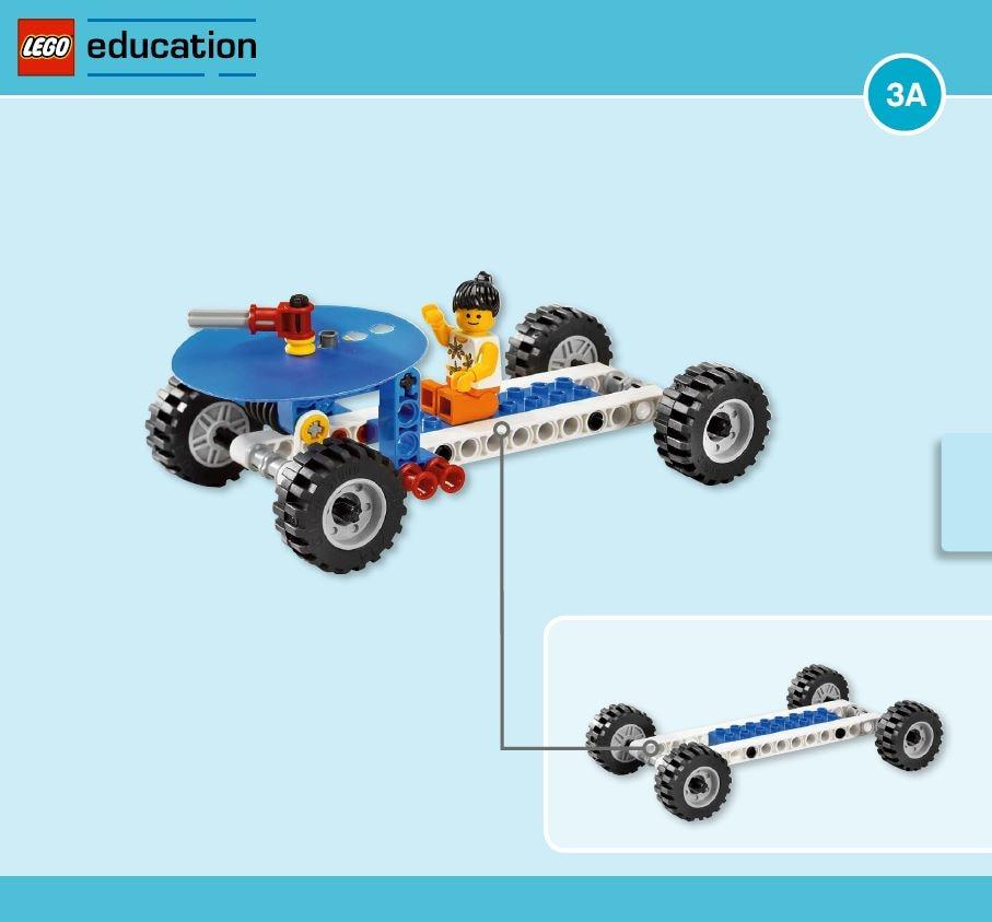 LEGO Education Machines&Mechanisms - Building instructions - Freewheeling
