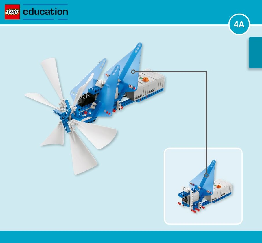 LEGO Education Machines&Mechanisms - Building instructions - hydro turbine
