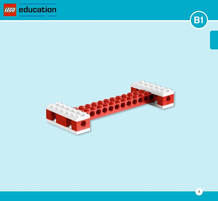 LEGO Education Machines&Mechanisms - Building instructions - wheels and axels