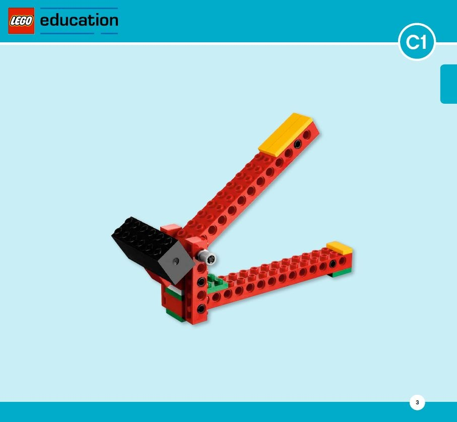 LEGO Education Machines&Mechanisms - Building instructions - levers