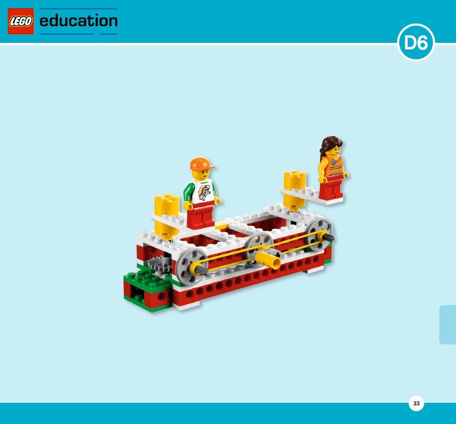 LEGO Education Machines&Mechanisms - Building instructions - crazy floors