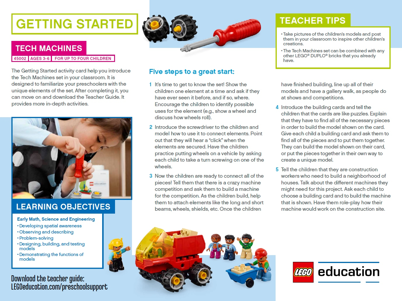 Preschool Lesson Ideas Support Lego Education