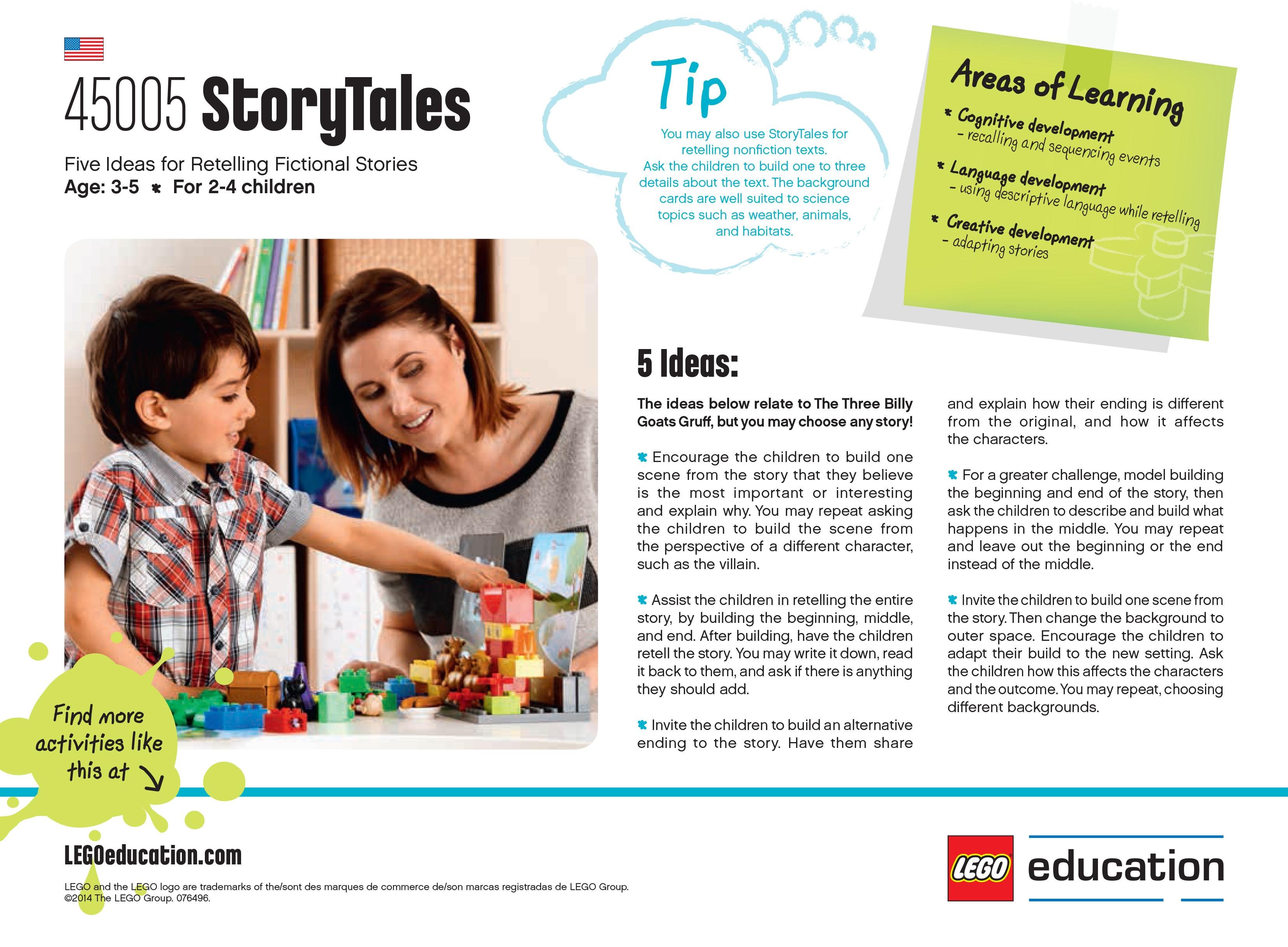 StoryTales activity ideas