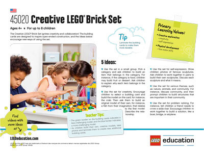 Creative LEGO Brick Set - 5 Ideas activity