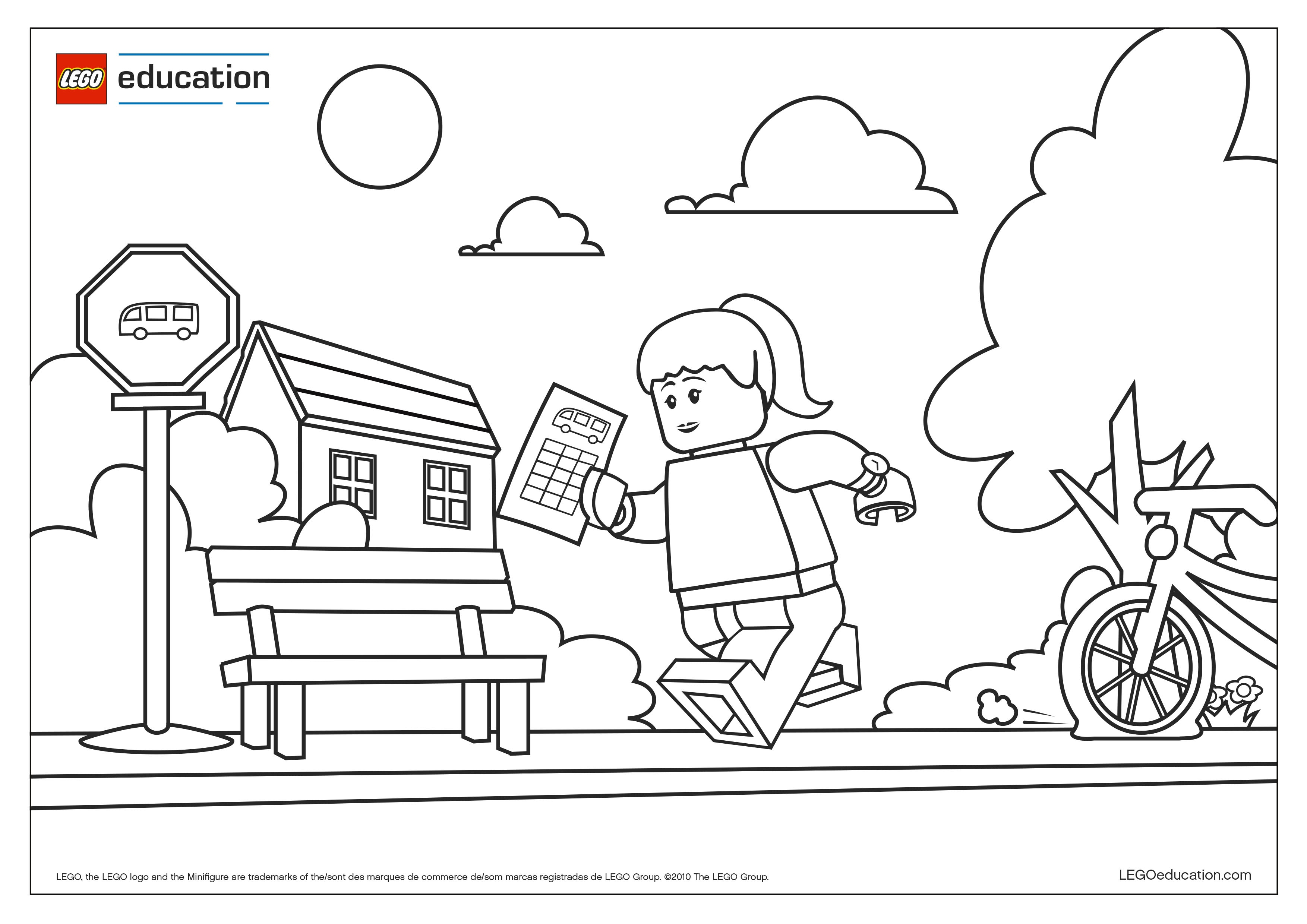 Preschool Coloring Pages – Support