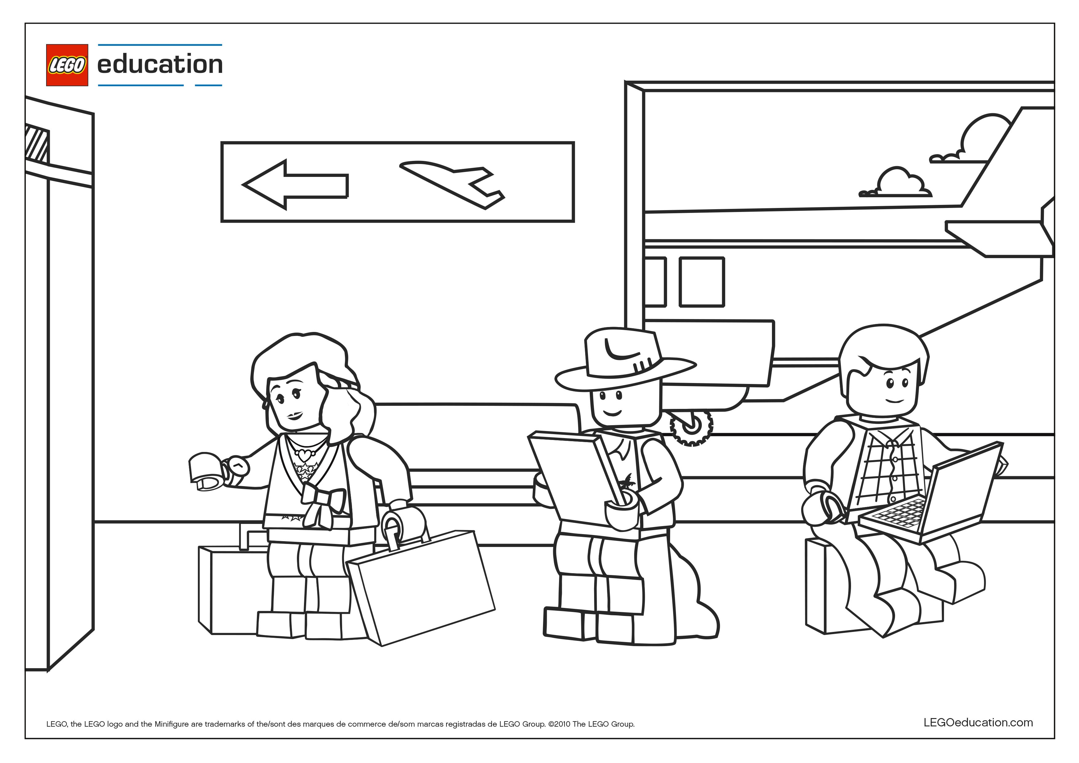 linkedin lego coloring pages - photo#48