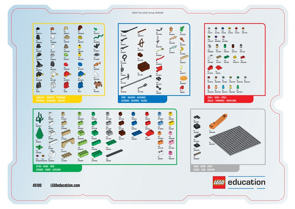 Storystarter Whats In The Box Support Lego Education