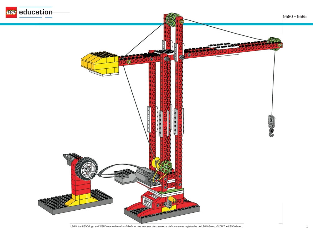 Crane building instructions