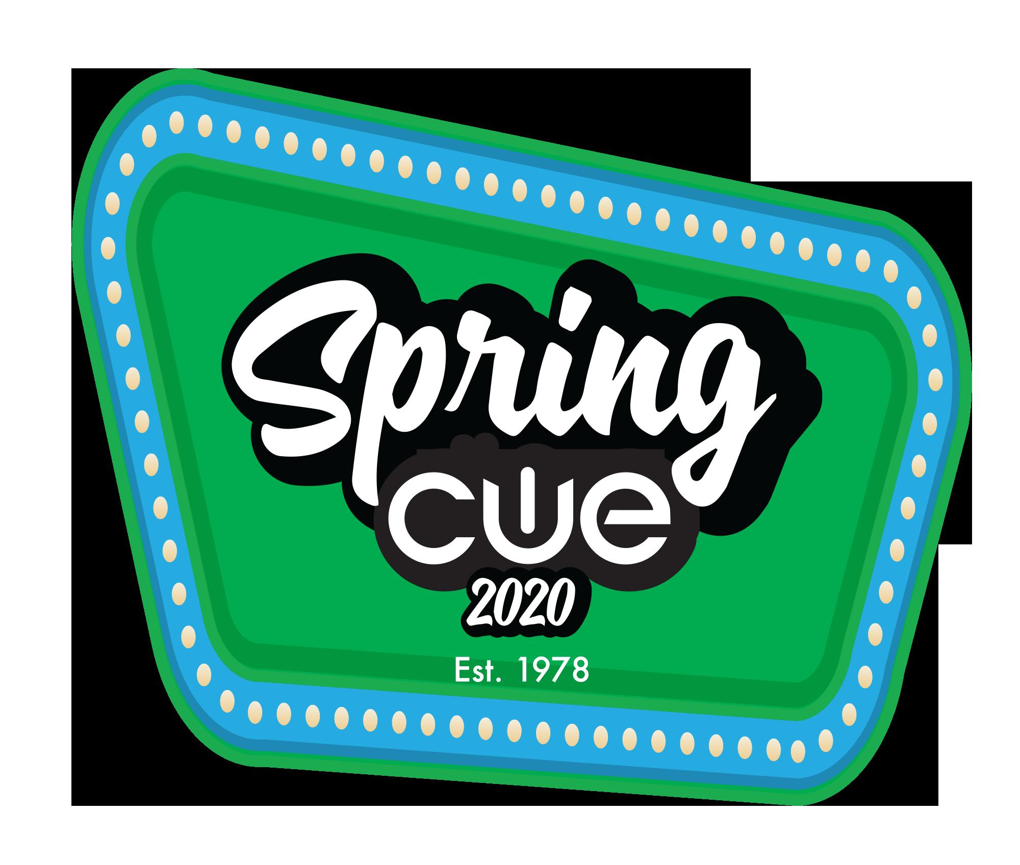 Spring Cue 2020 Logo