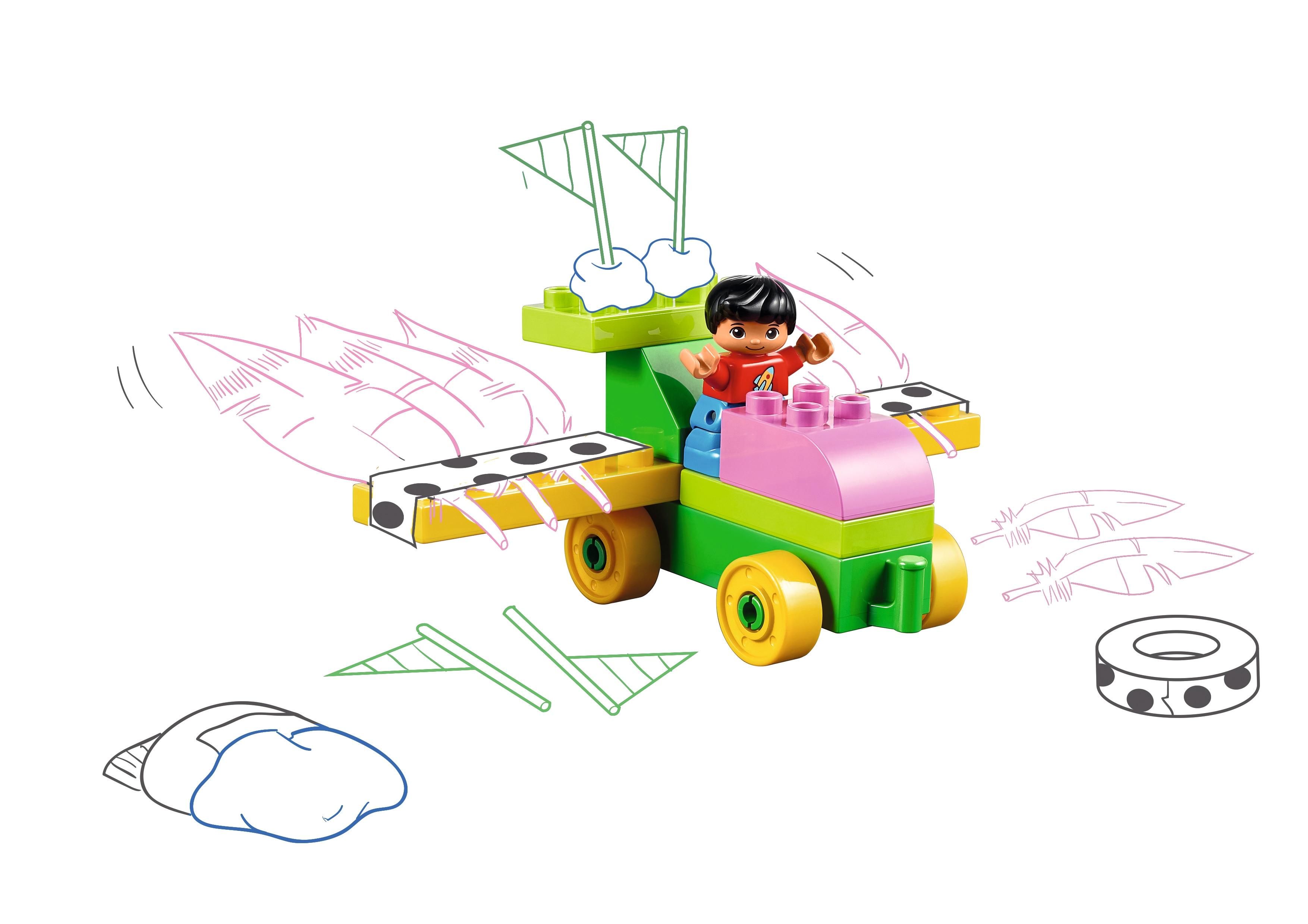 Dream Car Preschool Lesson | Maker With STEAM Park | LEGO Education