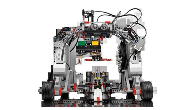 MINDSTORMS EV3 advanced model.