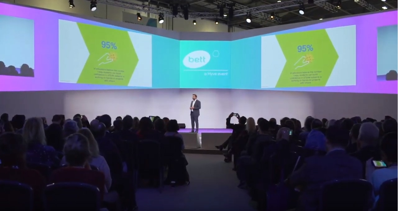 During Esben Stærk's 2020 BETT keynote, he speaks on why confidence in STEAM learning is key to career opportunities and readiness for students.