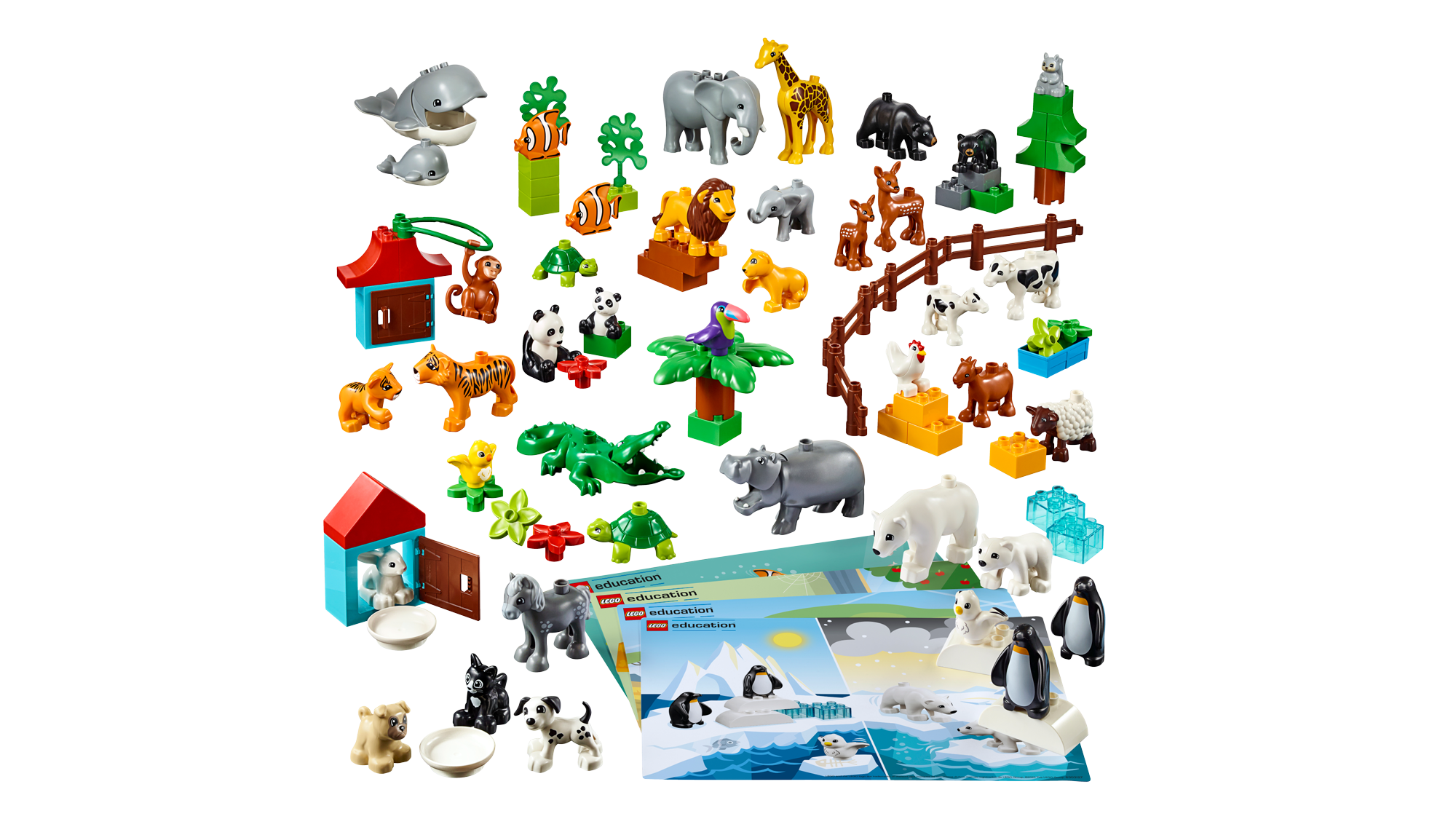 Animals by LEGO Education, product 45029