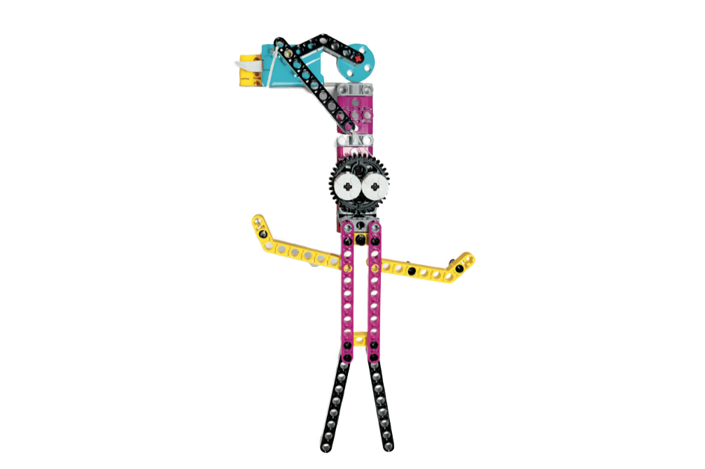 LEGO Education SPIKE Prime String Puppet of a Person model
