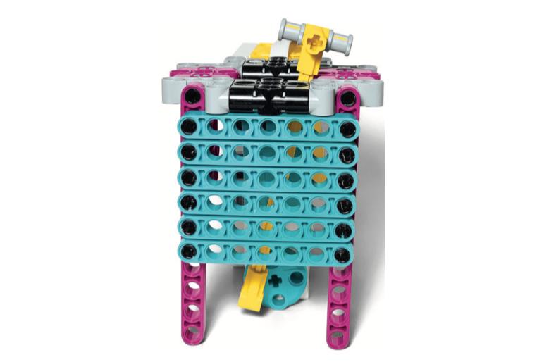 LEGO Education SPIKE Prime Rod Puppet of a Snake in a Basket model