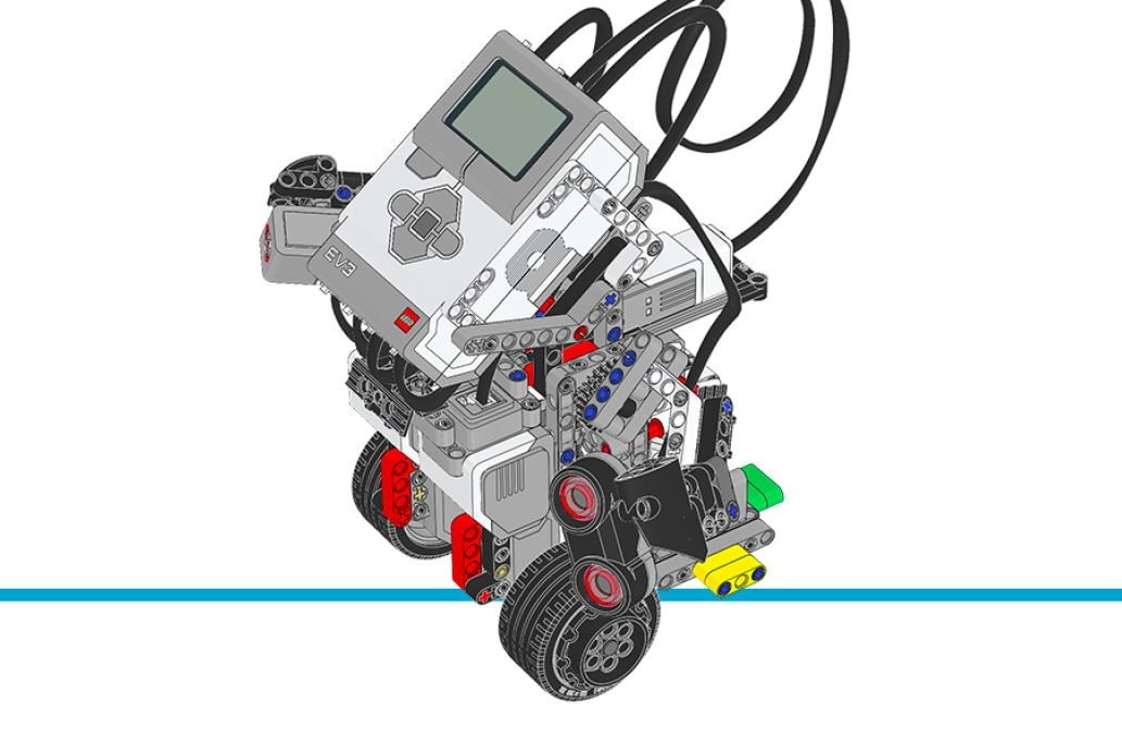 LEGO MINDSTORMS Education EV3 - building instructions - gyro boy