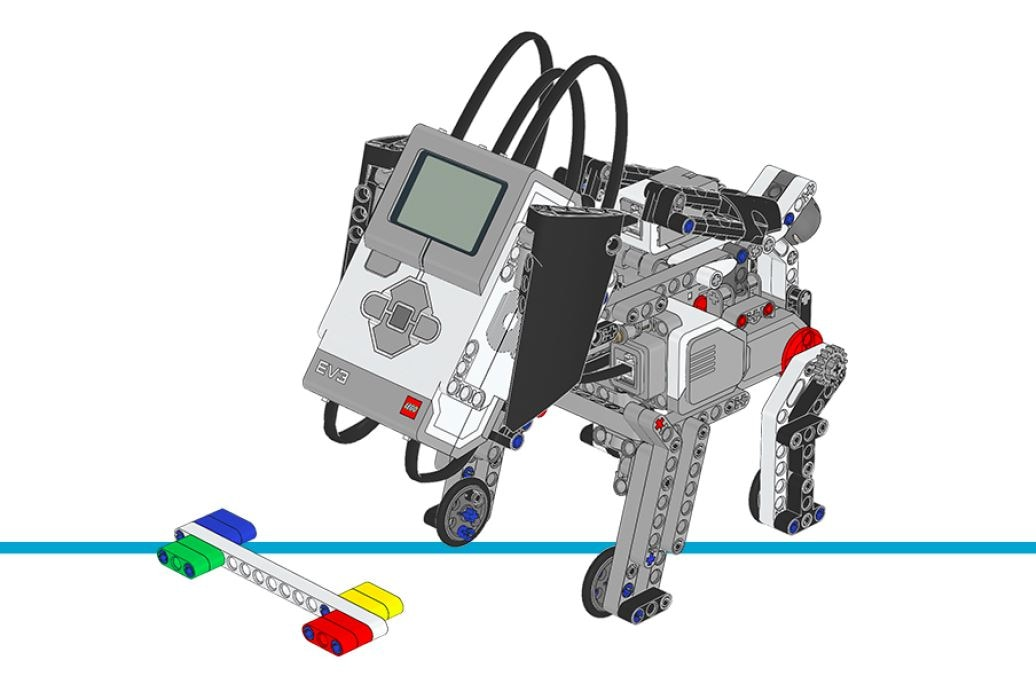 LEGO MINDSTORMS Education EV3 - building instructions - puppy