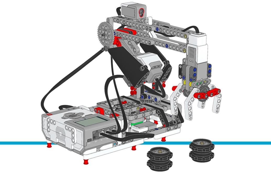 LEGO MINDSTORMS Education EV3 - building instructions - robot arm
