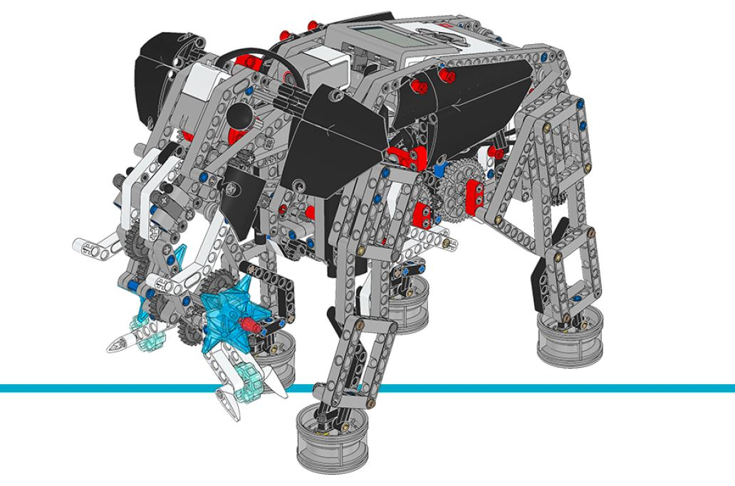 LEGO MINDSTORMS Education EV3 - Model expansion set - Elephant