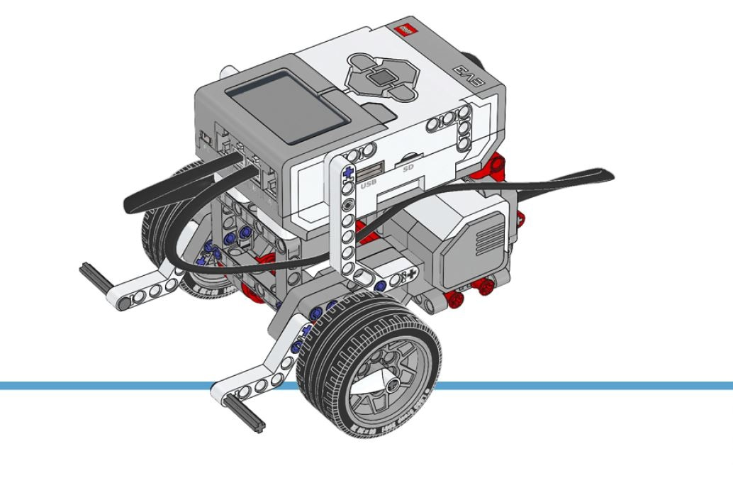 Mindstorms ev3 building instructions support lego education driving base sciox Gallery