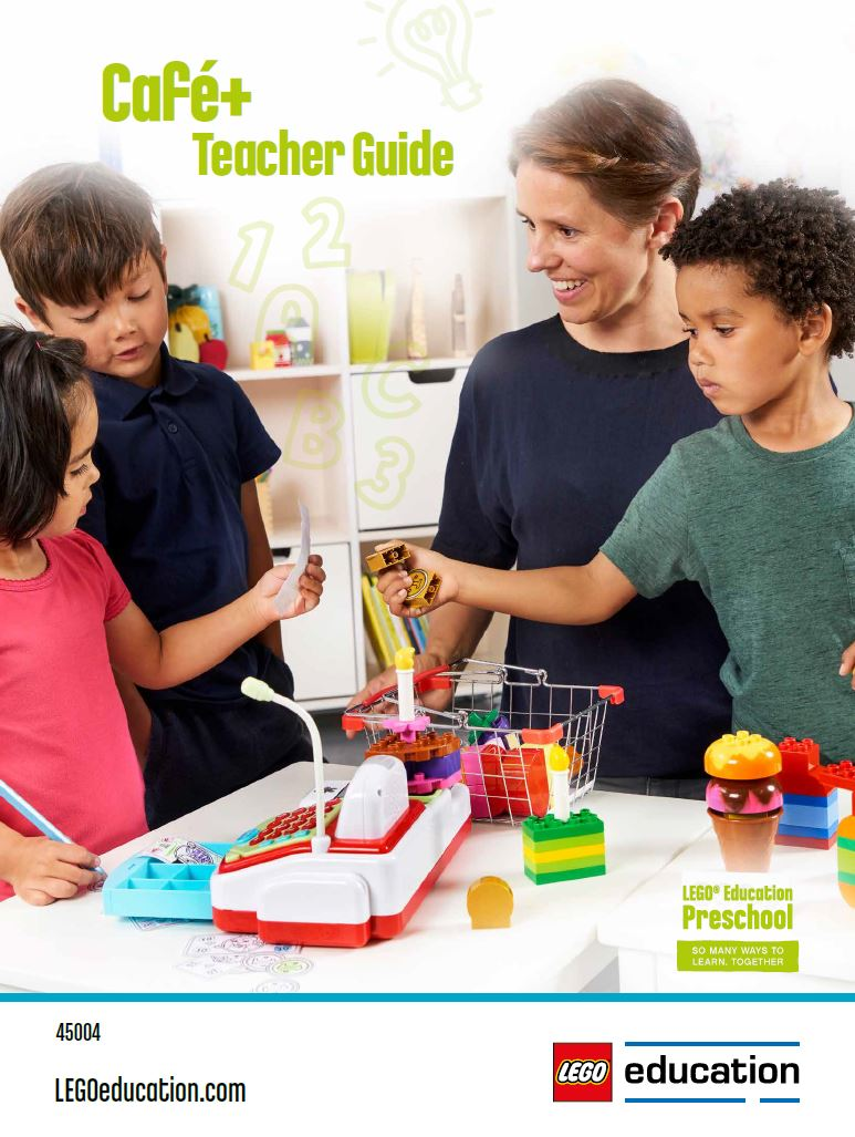 Cafe+ Preschool Teacher Guide | LEGO Education