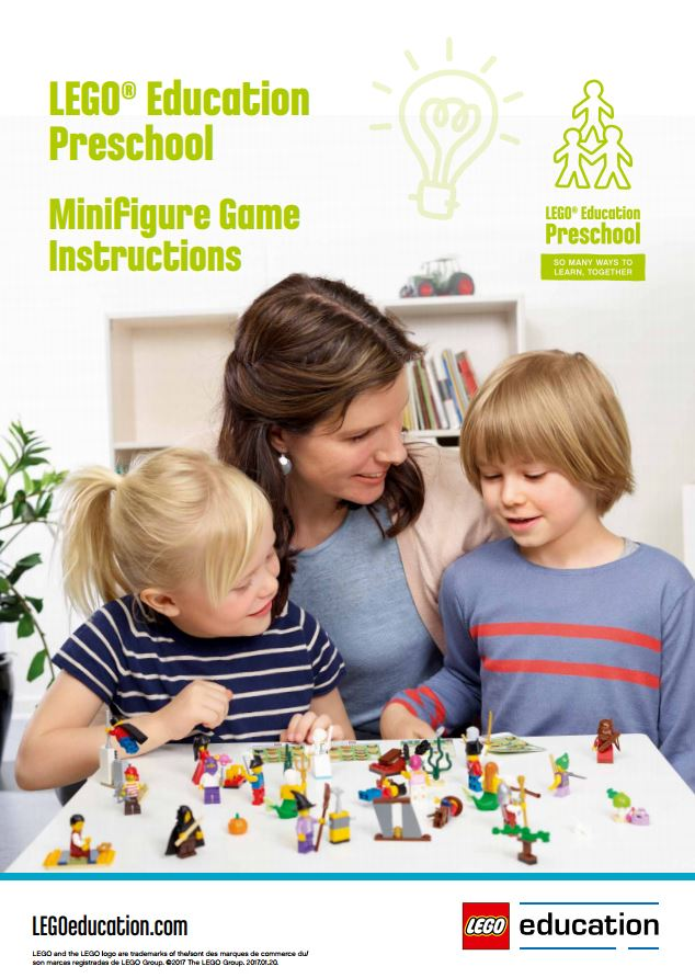 Preschool Games Support Lego Education