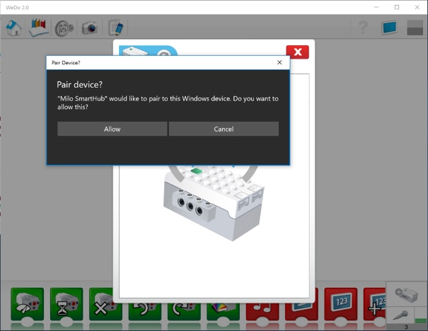 How To Connect To The Wedo 20 Smart Hub Support Lego Education