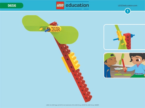 Pinwheel Early Simple Machines Lesson Plans Lego Education