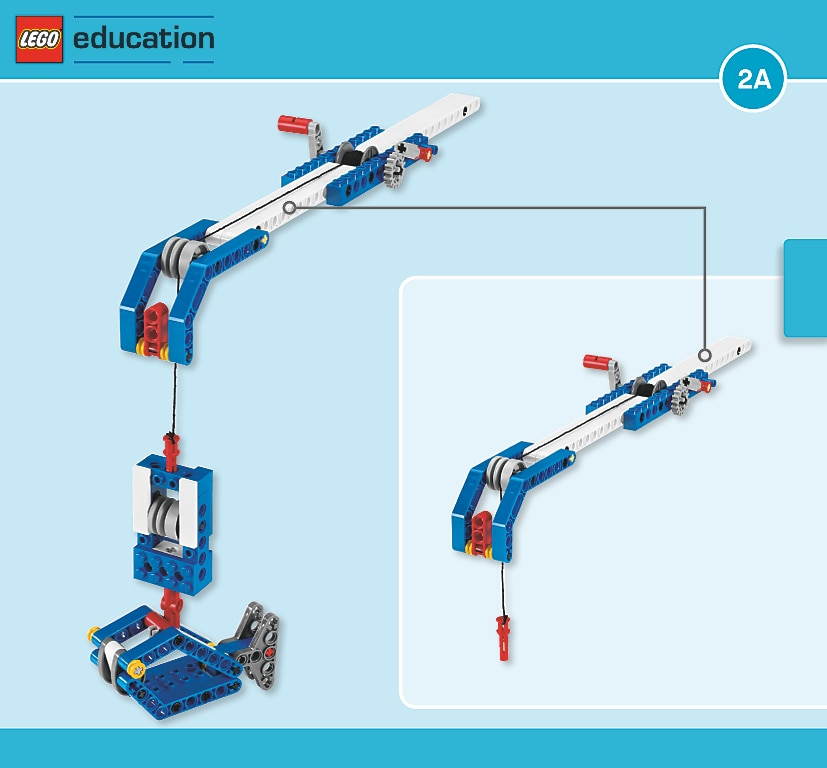 Fishing Rod Simple Powered Machines Lesson Plans Lego Education