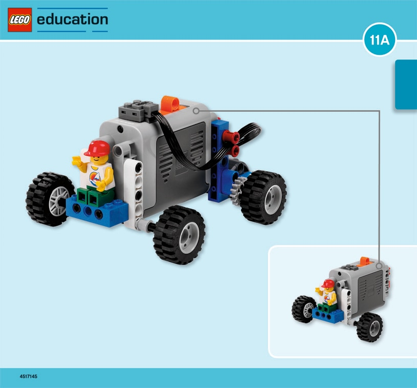 Power Car Simple Powered Machines Lesson Plans Lego Education
