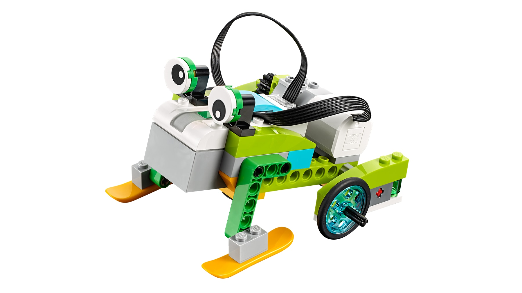 LEGO Education WeDo 2.0 Frog model from the Frog's Metamorphosis lesson plan