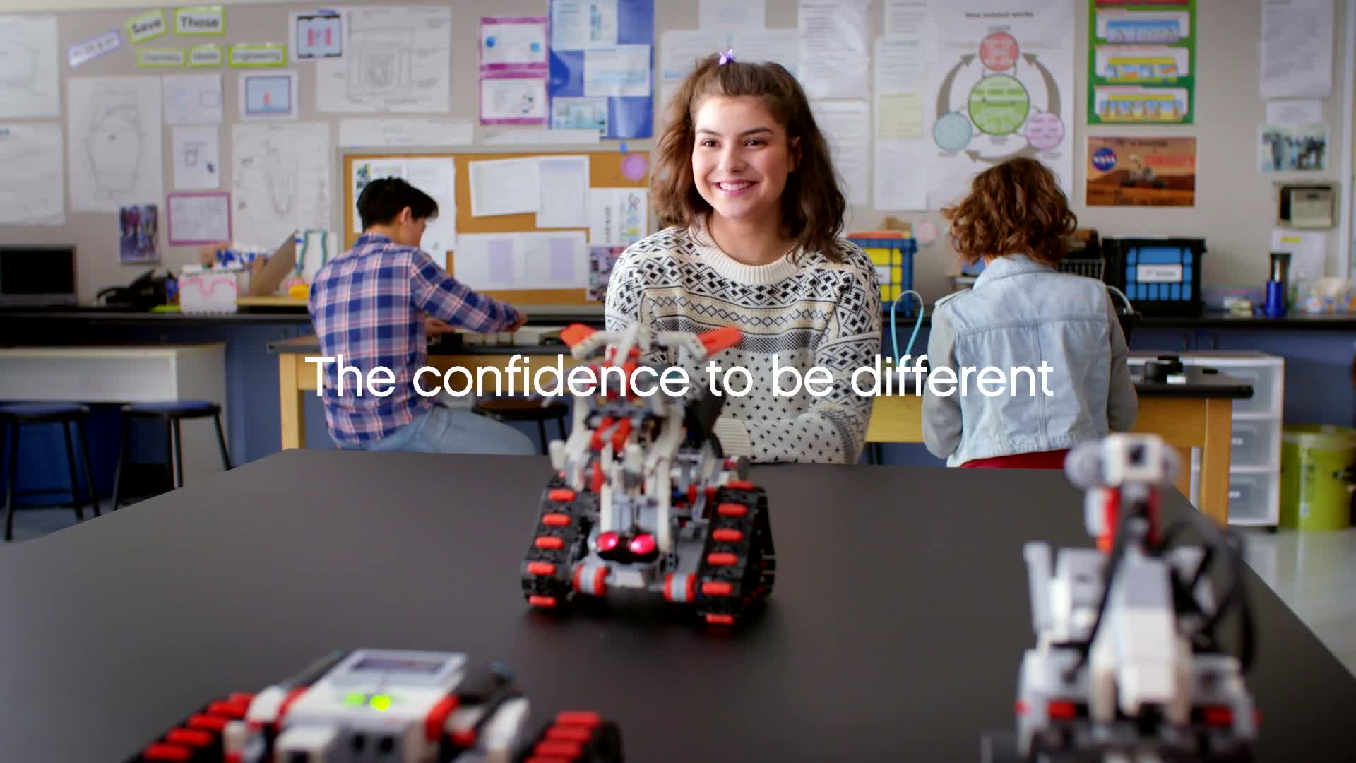 Build Confidence with  LEGO® MINDSTORMS® Education EV3